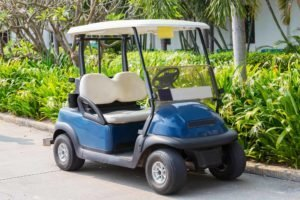 How much does a golf cart cost